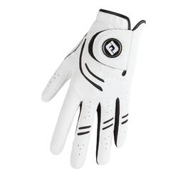 Golfhandschoen voor heren rechtshandig wit