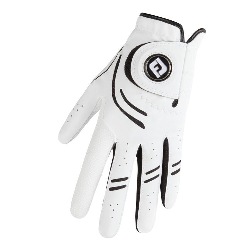 Men's golf right-handed GTXtreme glove white