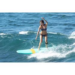 Top Bikini Surf Palabra de Honor Olaian Laura Mujer Bandeau Copas Fijas Flores