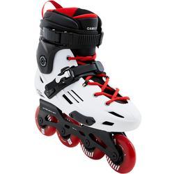 MF900 HardBoot Adult Freeride Inline Skates - White/Red