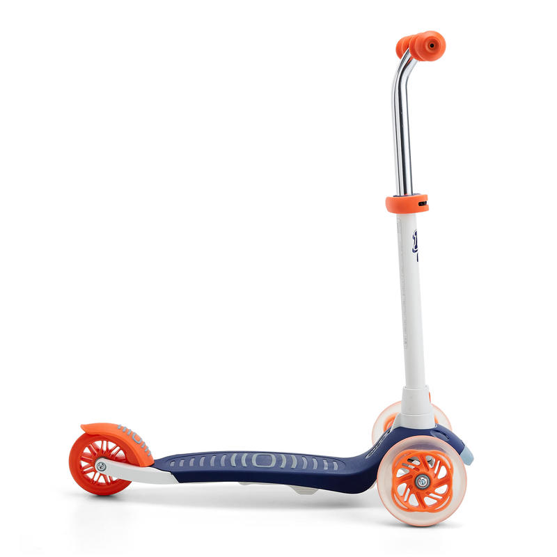 B1 500 Kids' Scooter - Blue/Red
