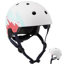 Helm voor skeeleren skateboarden steppen Play 7 Splash