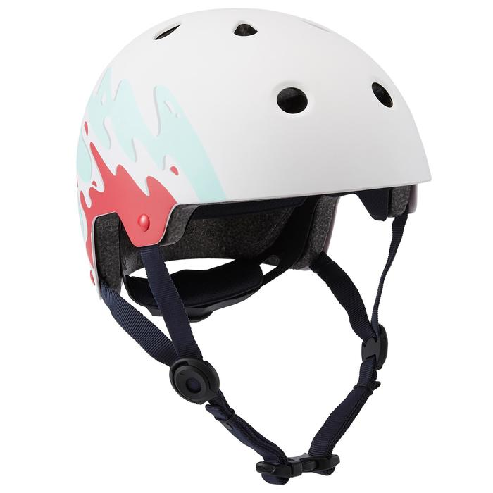 Helm voor skeeleren, skateboarden, steppen Play 7 Splash