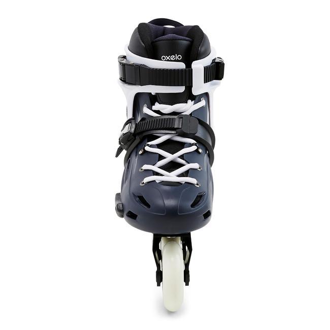 Adult Freeride Hardboot Inline Skates MF500 - Blue/White