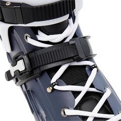 Freeride Hardboot-skeelers voor volwassenen MF500 blauw/wit