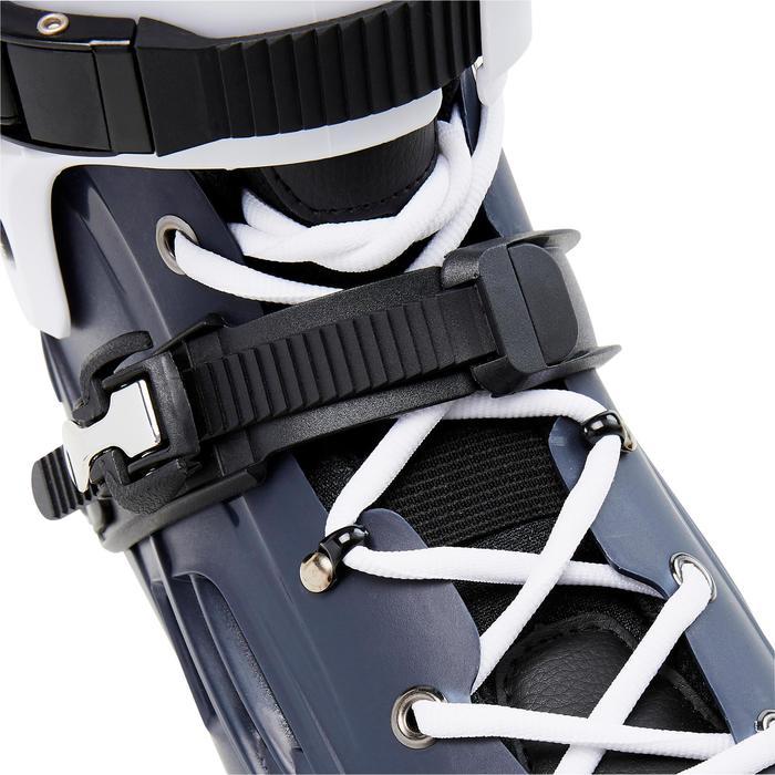Freeride skeelers volwassenen hardboot MF500 blauw/wit