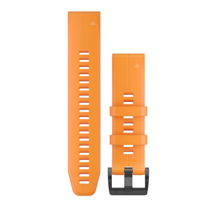 Horlogebandje Fenix 5 oranje 22 mm breed