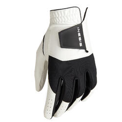 Men's Golf Resistance Glove Right-Handed - White/Black
