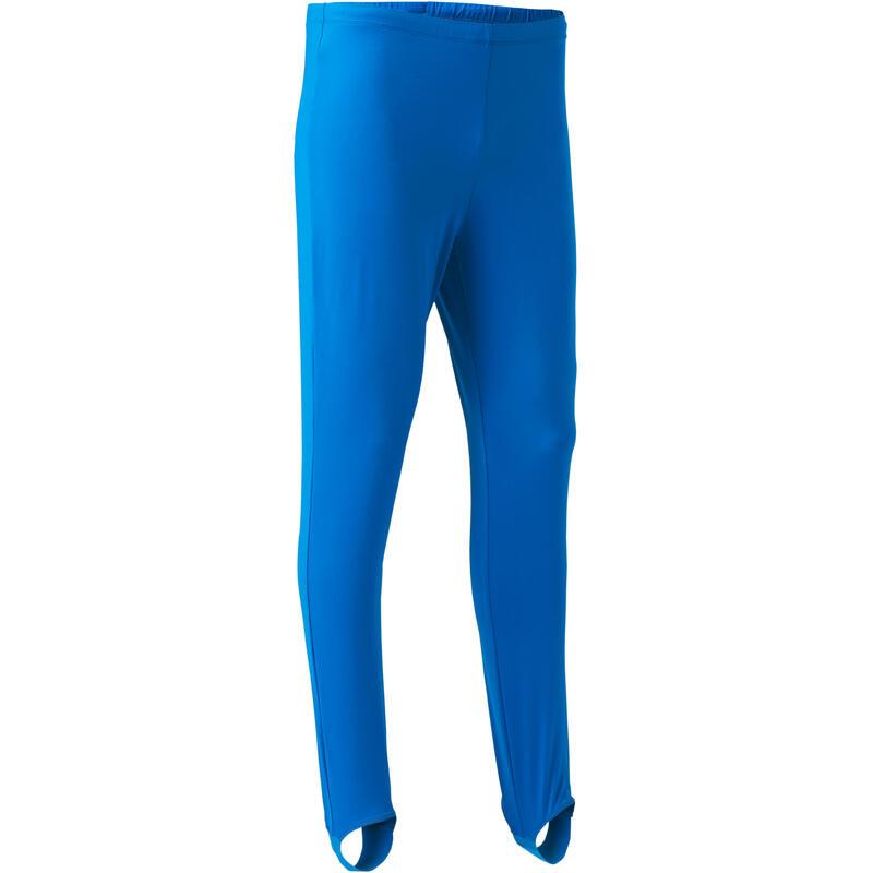 Pánské legíny na sportovní gymnastiku 500 modré