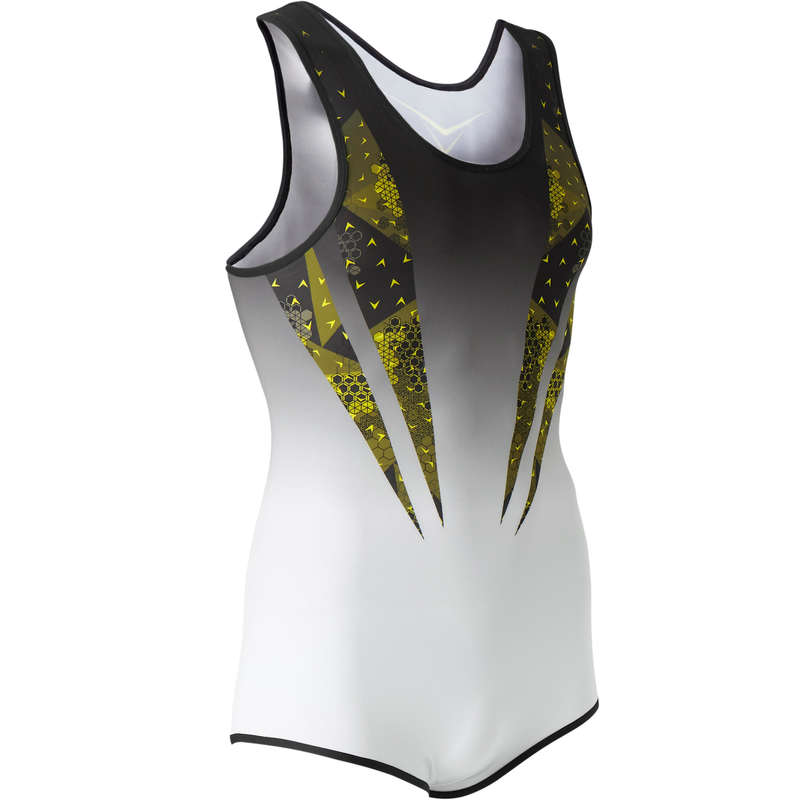 MENS ARTISTIC GYM APPAREL, HAND GRIP Gymnastics - GAML 500 Leotard DOMYOS - Gymnastics