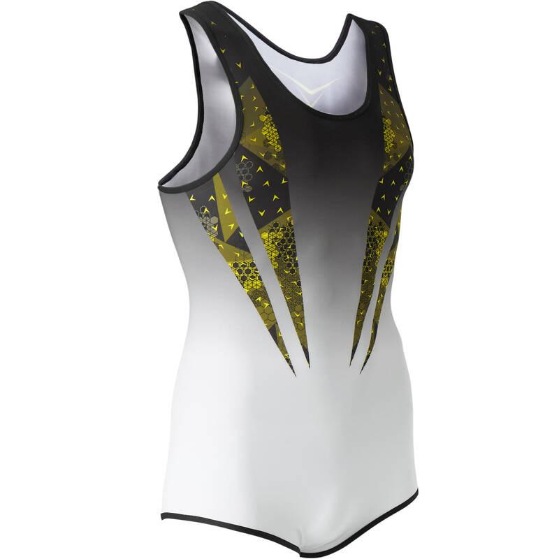 PÁNSKÉ VYBAVENÍ NA POSILOVÁNÍ Gymnastika - PÁNSKÝ GYMNASTICKÝ DRES 500 DOMYOS - Gymnastické oblečení