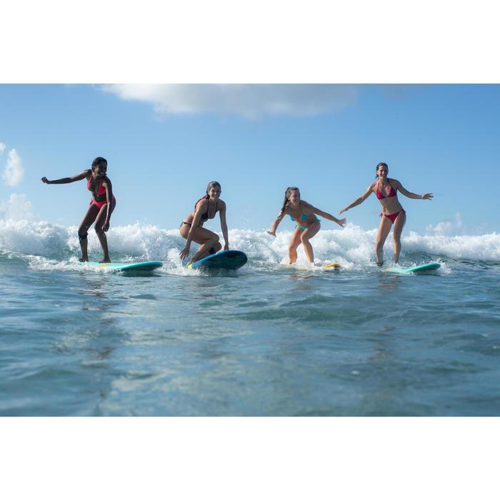 Bikini-Hose Sofy seitlich gebunden Damen korallenrot
