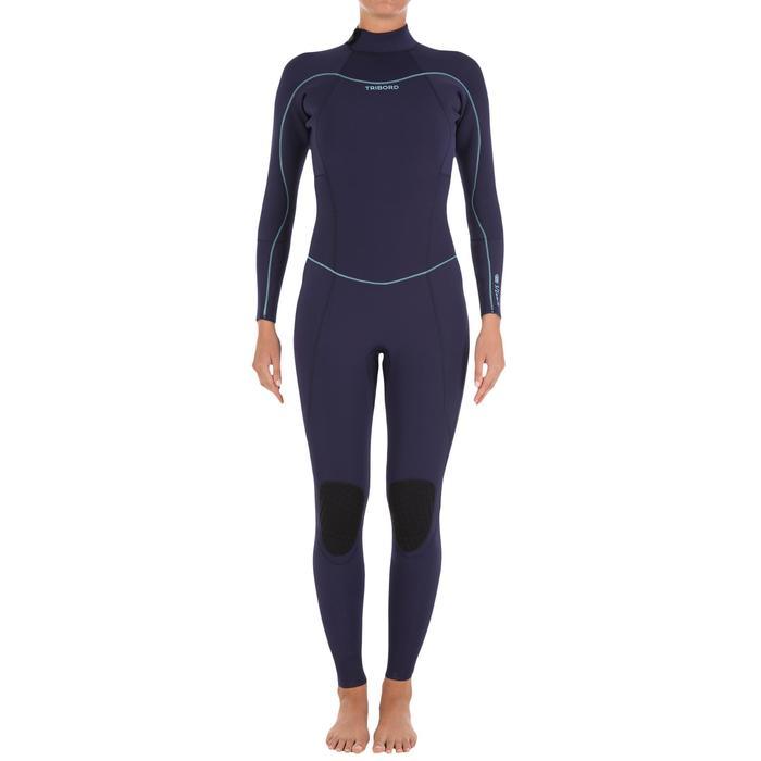900 女款 3/2mm 氯平橡膠衝浪潛水衣-紫色LTD