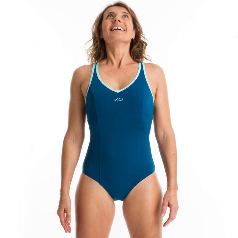 AQUAGYM AQUABIKE SWIMSUITS/MATERIAL All Watersports - Lou Women's Swimsuit - Blue NABAIJI - All Watersports