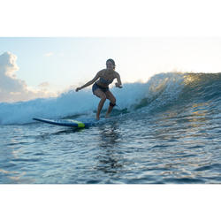 Top Bikini Surf Palabra de Honor Olaian Laura Mujer Bandeau Tirantes Etnic Negro