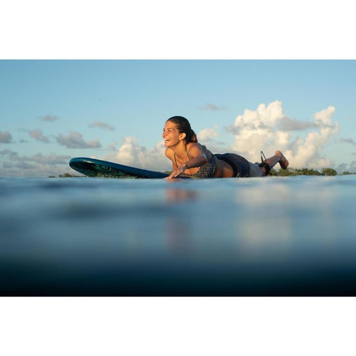Boardshorts Tini Ethni elastischer Taillenbund mit Kordelzug Damen