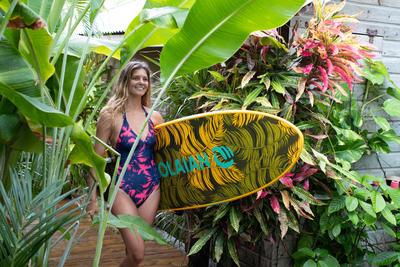 Maillot e bain 1 pièce de surf CLEA POLY