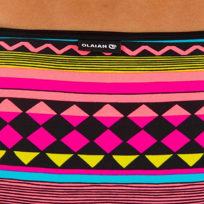Braga Bikini Surf Ancha Olaian Nina Gio Mujer Estampado Rosa Amarillo