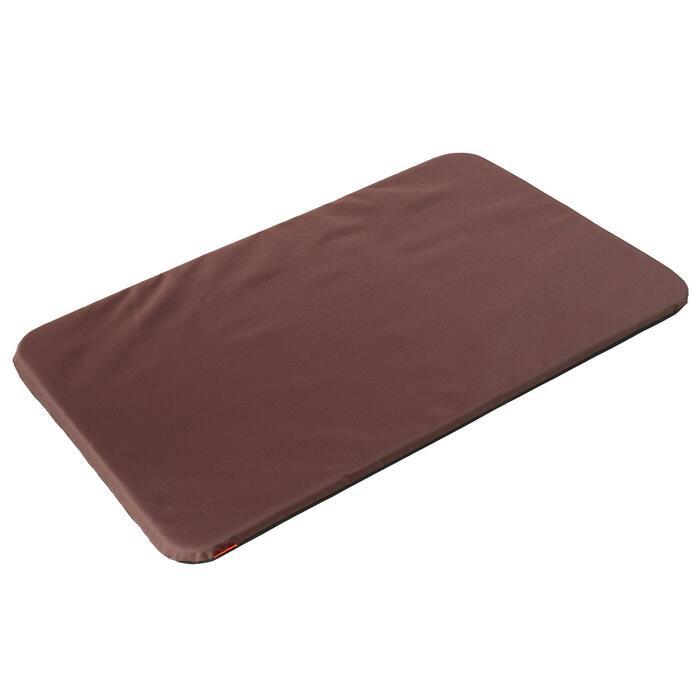 Alfombra perro 100 marrón