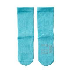 Calcetines Largos Lote 2 Gimnasia Bebé Domyos 100 Azul/Gris