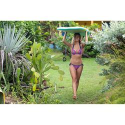 Haut de maillot de bain femme push up avec coques fixes ELENA DOMI