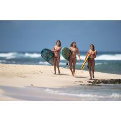 Bikini-Oberteil Triangel Mae Gio verschiebbar mit Formschalen Damen grün