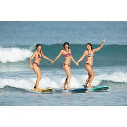 Bikini-Oberteil Bandeau Laeti Gio Multi angenähte Formschalen Surfen Damen
