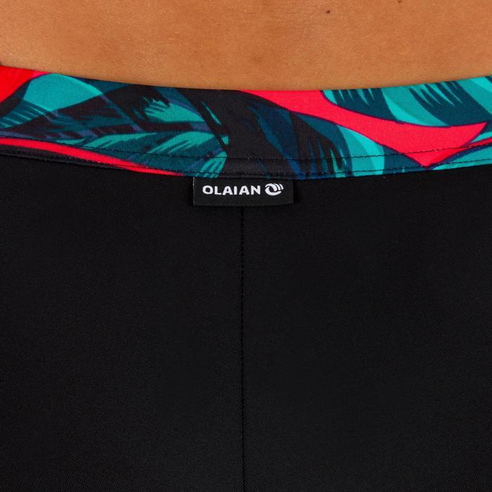 Bas de maillot de bain shorty de surf femme AVEC SERRAGE VAIANA futuna rouge