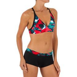 Haut de maillot de bain brassière double réglage dos BEA FUTUNA RED