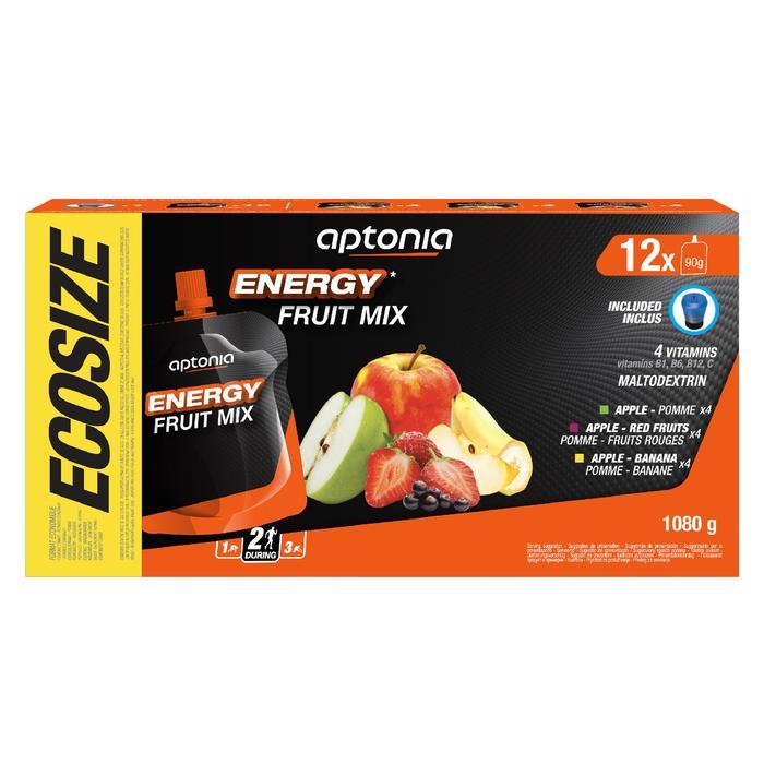 Especialidad frutas energética 12x90g manzana, manzana-plátano, manzana-f. rojos