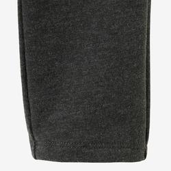 Legging kleutergym 120 grijs