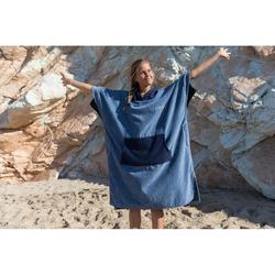 PONCHO SURF ADULTE 900 Navy