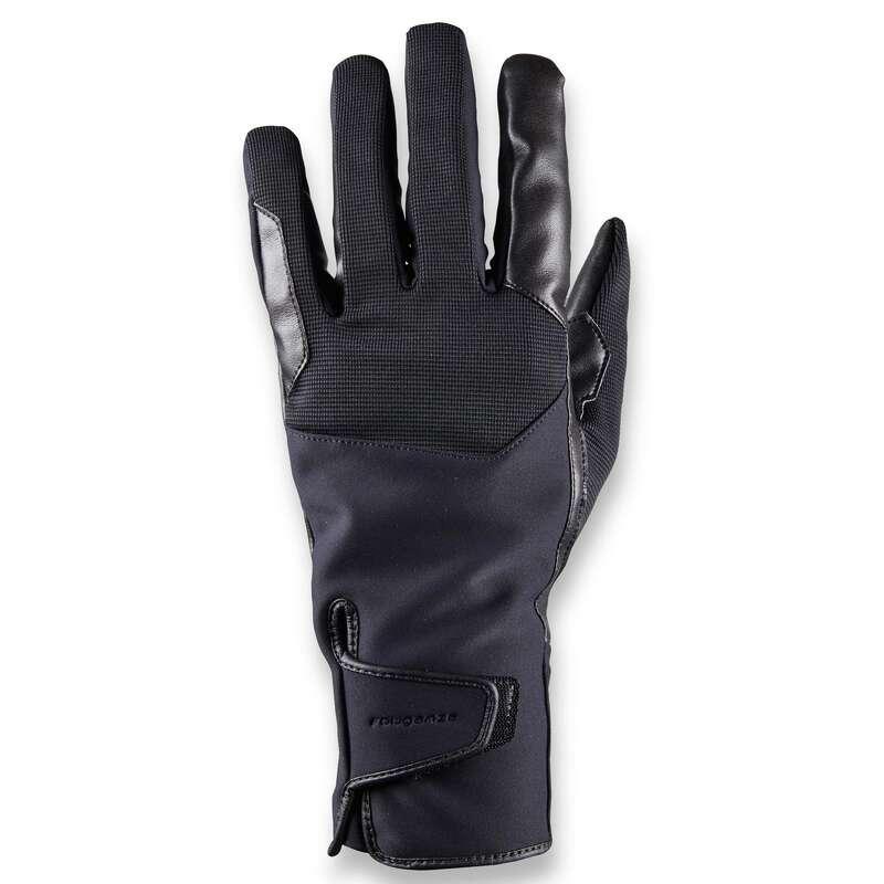GANTS EQUITATION TEMPS FROID Populärt - Handskar 560 WARM herr svart FOUGANZA - Accessoarer