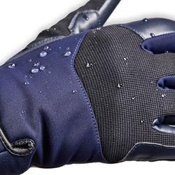 Warme rijhandschoenen voor dames 560 Warm marineblauw/zwart