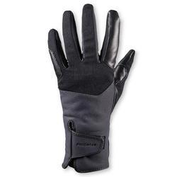 Gants chauds d'équitation femme 560 WARM gris/noir