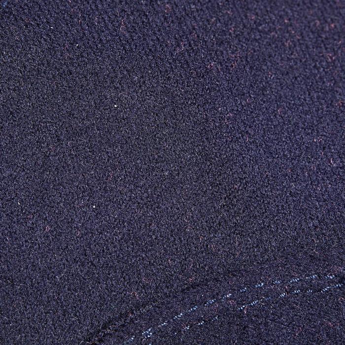 Gants chauds d'équitation enfant 140 WARM marine/rose