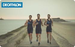 E-carte cadeau Decathlon triathlon