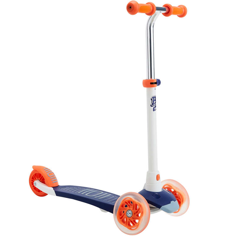 CHILD SCOOTERS Outdoor Activities - B1 500 Scooter - Blue/Red OXELO - Outdoor Activities