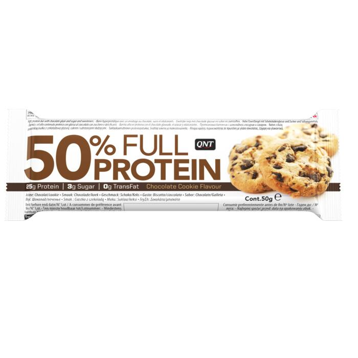 QNT 50% Protein Bar Chocolate Cookie