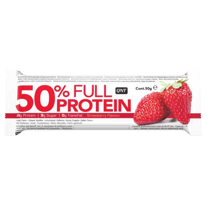 QNT 50% Protein Bar Strawberry