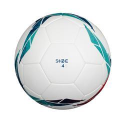 4號熱黏合F500足球-白色/綠色/紅色