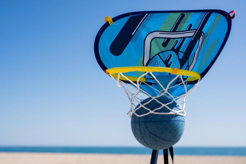 Aro basketball HOOP 500 Easy. Se lleva y se fija a todas partes en menos de 60s.