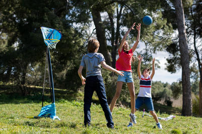 חישוק כדורסל Hoop 500 Easy - כחול