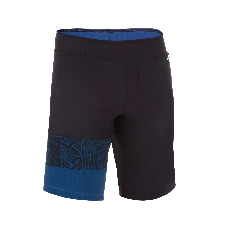 Nabaiji Lange zwemshort heren Swimshort 100 mao zwart kopen