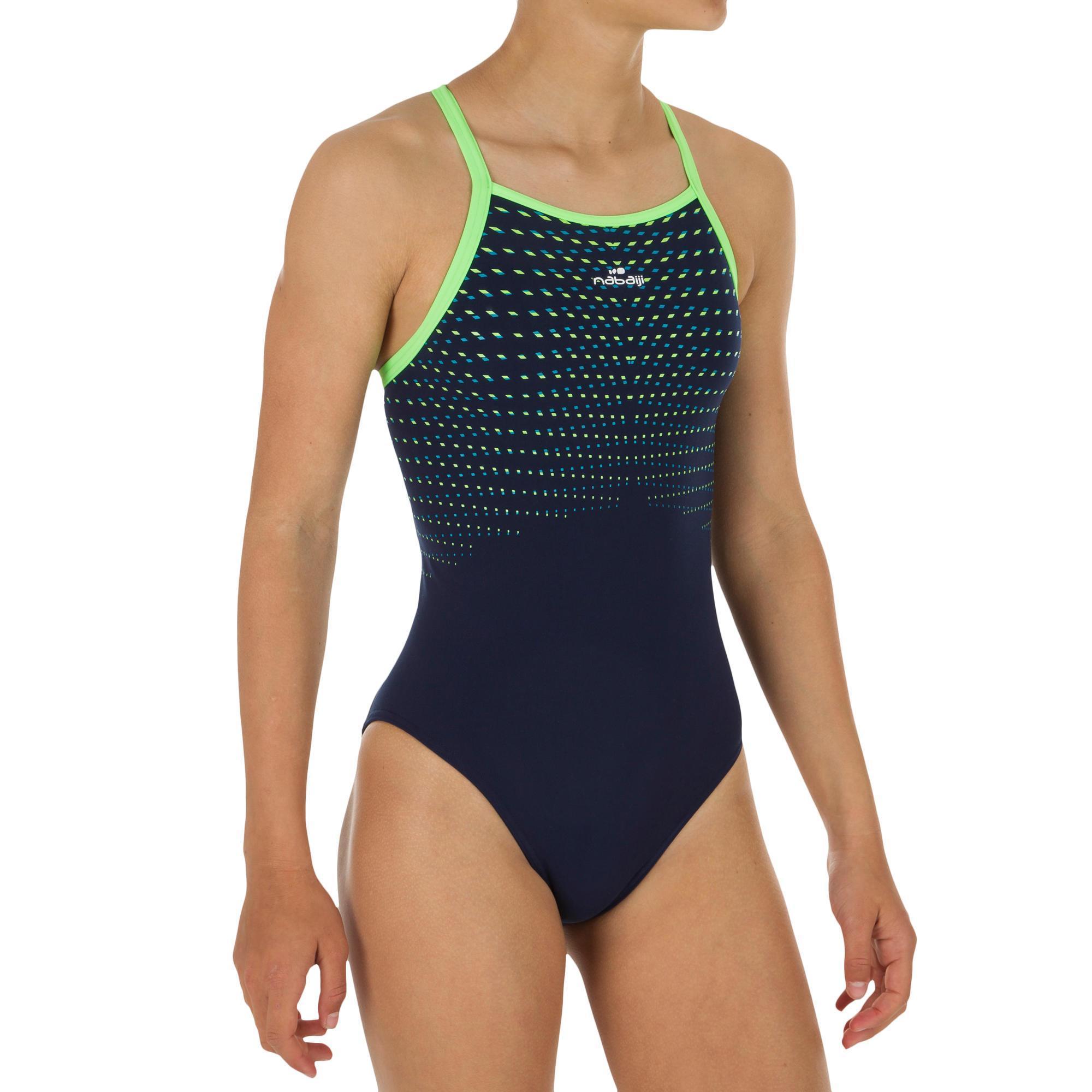 0b525306 Comprar Bañadores de Natación para Niña Online | Decathlon