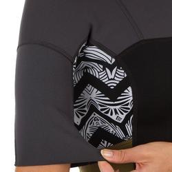 Shorty 500 voor dames in stretch neopreen van 2 mm