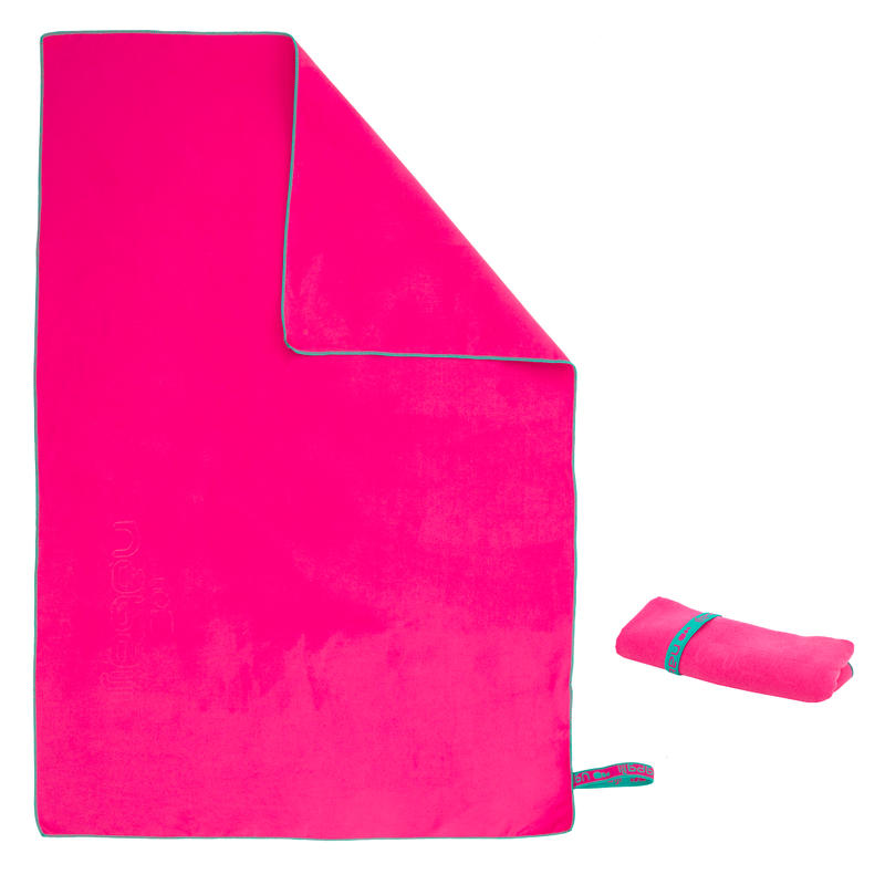 Microfiber towel Medium - Pink