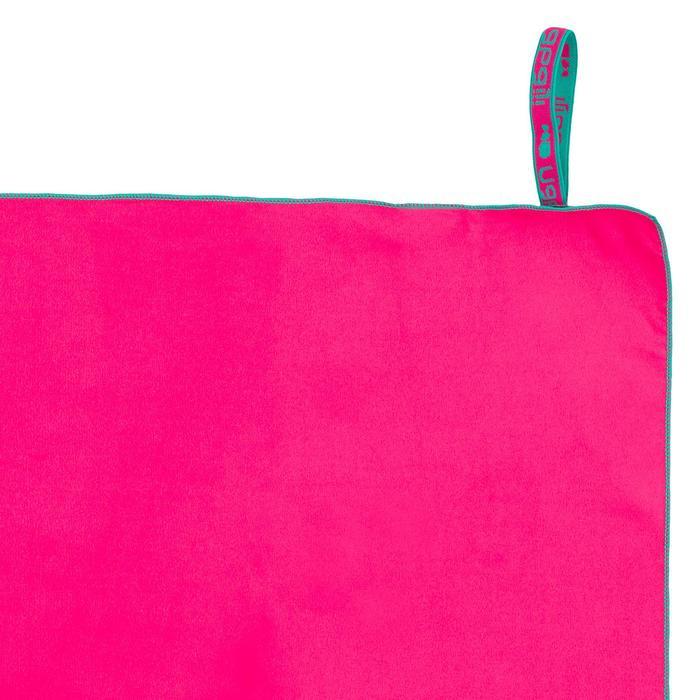 Microvezelhanddoek roze M