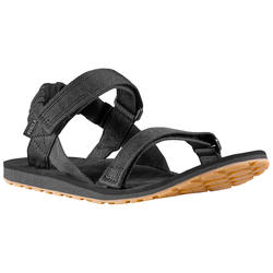 Herensandalen voor backpacken Travel 100 carbongrijs