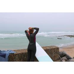 Fullsuit voor surf dames 4/3 500 back zip